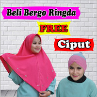 Jilbab Instan Murah Harga Grosir RINGDA FREE CIPUT