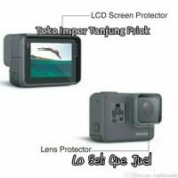 Tempered Glass Lens n LCD Screen Protector GoPro Hero 7 - 6 - 5 Black