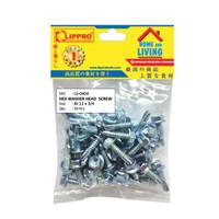 LIPPRO LS-0404 SKRUP BAJA RINGAN 12 x 3/4 - BAUT ROOFING - 50 PCS