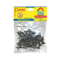 LIPPRO LS-0203 SKRUP GIPSUM 6 x 1-1/4 - BAUT GYPSUM DRYWALL - 50 PCS