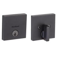 Kunci Pintu Deadbolt Smartkey | KWIKSET DB.SC.258 Sqt Smart Black