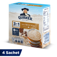 Quaker 3in1 Mocha Box 4 Sachets