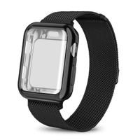 Strap+Case Smart Apple Watch 38mm / 42mm / 40mm / 44mm Series 4 3 2 1