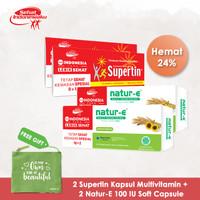 Natur-E Softcapsule 100IU 20'S + Supertin Capsule 10'S