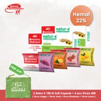 Natur-E Softcapsule 100IU 20'S + Vicee