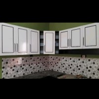Kitchen set / Lemari sayur / lemari dapur / lemari piring set atas