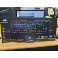 Corsair K70 RGB MK2 Mx Speed Mechanical Keyboard Garansi Resmi DTG 2Th