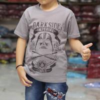 kaos distro anak murah   dark side grey   kaos anak terbaru