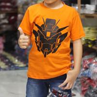 kaos dutro anak murah   transformers orange kaos anak laki laki murah