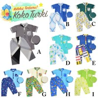 Setelan Koko Anak/ Baju lebaran anak laki laki/ Koko Turki untuk anak