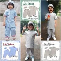Setelan Baju Koko Anak/ Baju lebaran anak Laki laki
