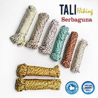 Harga tali jemuran pakaian multifungsi bahan nylon warna warni | antitipu.com