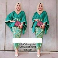 NEW LAPAKSOLOCITY Atasan Wanita Set Rok Batik Lowo Jumbo RNB HAZANA B