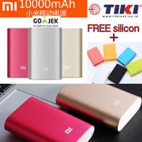 Xiaomi Mi Power Bank 10000 mAh Powerbank xiaomi 10000 mah free silicon