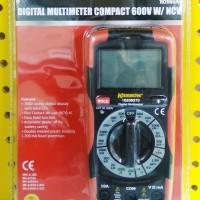DIGITAL MULTIMETER COMPACT 600V W/ NCV KRISBOW 10206570