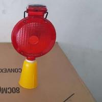 Solar Warning Light/ Lampu Kerucut Merah