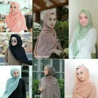 HIJAB DAILY PASHMINA kerudung jilbab simple Sabyan Diamond Murah