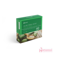 HANASUI BODY BAR SOAP - ALOE VERA
