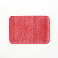Linen Tray Red Chambray M