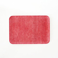 Linen Tray Red Chambray S