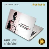 0ee0eaa42 Garskin / Skin / Cover / Stiker Laptop - Fi Fia Soekarno 1 Diskon