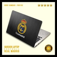 8b53294a8 Garskin / Skin / Cover / Stiker Laptop - Fo Real Madrid 3 Termurah