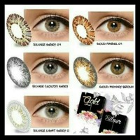 Softlens X2 Ice Silver Gold - Hazel Minus New