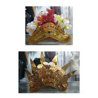 Kepala bali mahkota bali bunga kamboja atau mahkota legong adat tari