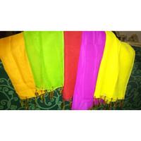 Selendang tari sampur sifon ronce baju adat anak warna warni