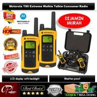 Motorola TLKR T80 Extreme Walkie Talkie Consumer Radio - HT - Garansi