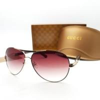 Kacamata sunglasses fashion pria wanita gucci 160659 kualitas super