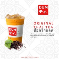 Dum Thai Tea Original | Minuman Teh Thailand Susu Black Tea GOJEK Only