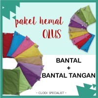 ORIGINAL Paket Hemat Bantal Olus Pillow Anti Peyang Bayi