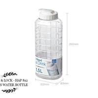 lock & lock HAP812 / HAP 812 Botol minum ukuran 1.5L