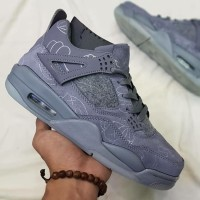 825658c20b71 Nike Air JORDAN Retro 4 Kaws Cool Grey Premium Original