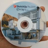 SketchUp Pro 2019 & VRAY 4 plus Tutorial Dasar sampai Mahir