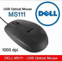 "MOUSE WIRED ""DELL MS111"" CABLE1.8M"