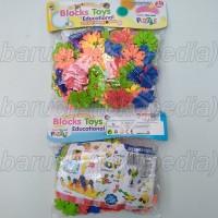 lego puzzle block bombik tazos bongkar pasang mainan edukatif edukasi