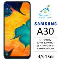 Samsung Galaxy A30 4/64 GB Garansi Resmi SEIN