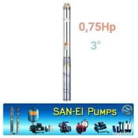 Pompa satelit submersible San ei 0.75hp 3 inch shimizu Big Promo