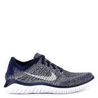 9d840ac627b1 Sepatu Lari NIKE Pria Terbaru Original Free Rn Flyknit 2018 Blue