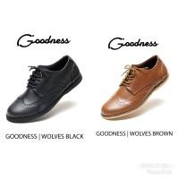 Sepatu pria murah Goodness Wolves original casual pantofel boot slop