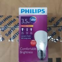 Lampu bohlam LED Philips 3,5w 35w 3,5 35 watt w KUNING WARM