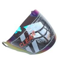 Kaca Helm INK CX22 CX 22 Rainbow Visor Half Face Pelangi Grosir Murah