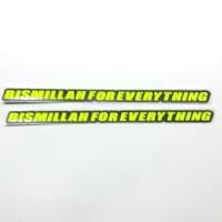 Stiker Sticker Bismillah For Everything