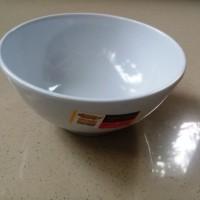 "Mangkok Kaki 5"" Putih Melamine - Golden Dragon W0705"
