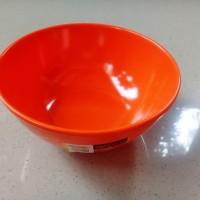 "Mangkok Kaki 5"" Orange Melamine - Golden Dragon W0705"
