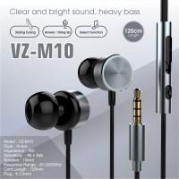 Headset Vizz VZ-M10 Original Earphone Handsfree for Oppo Vivo XiaoMi