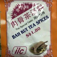sup Bah kut tea spices Singapore