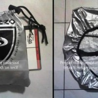 Paling Laris Cover Bag Rain Cover Jas Hujan Tas Palazzo - Hitam